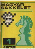 Magyar Sakkélet 1975. évfolyam (hiányos)