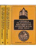 A Helikon és az Erdélyi Szépmíves Céh levelesládája (1924-1944) I-II. kötet - Marosi Ildikó