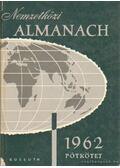 Nemzetközi almanach 1962 pótkötet - Radó Sándor