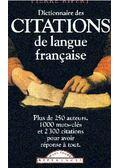 Dictionnaire des citations de langue francaise - Ripert, Pierre