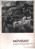 Művészet 1971. április 4. szám - Solymár István