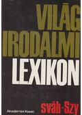 Világirodalmi lexikon 14. kötet (Sváb-Szy) - Szerdahelyi István