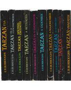 10 db vegyes Tarzan-könyv