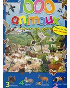 1000 animaux á découvrir et á coller