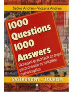 1000 Questions 1000 Answers - Gastronomy-Tourism