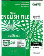 NEW ENGLISH FILE INTERMEDIATE WORKBOOK + MULTIROM CD