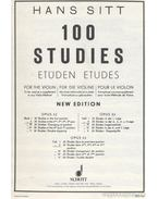 100 studies for the Violin