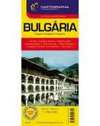 BULGÁRIA AUTÓTÉRKÉP CART.