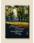 Nadányi Zoltán összegyűjtött versei