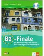 B2-FINALE - KÖZÉPFOKÚ NÉMET NYELVVIZSGAELŐK.+ CD -