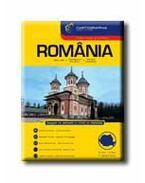 ROMÁNIA AUTÓATLASZA - CART. -