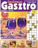 Kedvenc Gasztro rejtvénylap 2016/2