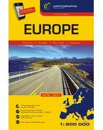 Európa autóatlasz 2016-2017 (kötött) 1:800.000