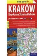 Krakkó várostérkép 1:22e 2015 (Expressmap)
