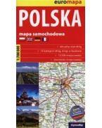 Lengyelország térkép 2015 (Expressmap) zsugoros