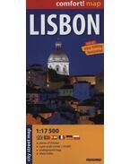 Lisszabon Comfort térkép (Expressmap)