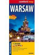 Varsó Comfort térkép (Expressmap)