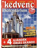 Kedvenc Kalendárium 2016/3.