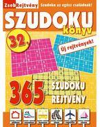 ZsebRejtvény SZUDOKU Könyv 32.