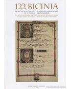 122 bicinia a 16. századból