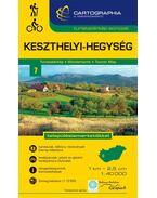 """Keszthelyi-hegység turistatérkép """"SC"""""""