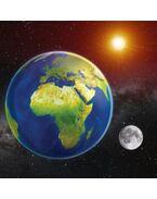 Föld 3D hűtőmágnes 75 x 75 mm M
