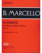 12 sonate 1 Op. 2 (fuvola és zongora)