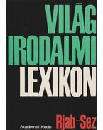 Világirodalmi lexikon XII. kötet Rjab-Sez