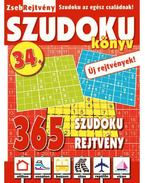 ZsebRejtvény SZUDOKU Könyv 34.