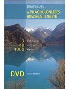 A világ különleges országai, szigetei 3 földrészről 40 útleírás 4000 képpel, DVD melléklettel