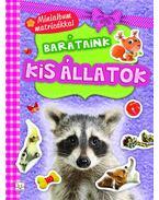 Minialbum matricákkal. Barátaink - Kis állatok