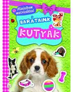 Minialbum matricákkal. Barátaink - Kutyák