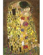 Gustav Klimt képeslap - Der Kuss/Csók 1907/08