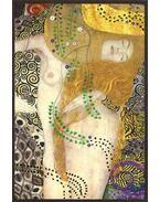 Gustav Klimt képeslap - Wasserschlangen I./Vízikígyók 1904/1907