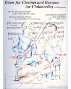 Duók klarinétra és fagottra (vagy gordonkára) kezdők számára