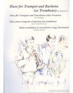 Duók trombitára és tenorkürtre (vagy harsonára) kezdők számára