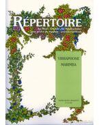Répertoire zeneiskolásoknak - Vibraphone, Marimba