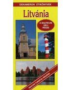 LITVÁNIA - A BALTIKUM DÉLI RÉSZE - DEKAMERON ÚTIKÖNYVEK