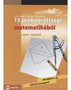 15 próbaérettségi matematikából