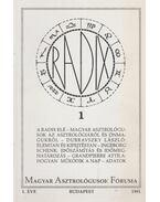 Magyar Asztrológusok Fóruma 1. (1991, 1. évfolyam)