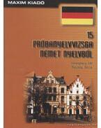 15 próbanyelvvizsga német nyelvből