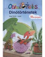 DINÓTÖRTÉNETEK - OLVASÓ TIGRIS -