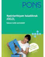 PONS NYELVTANFOLYAM HALADÓKNAK - ANGOL - 2 CD-VEL -