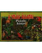 A világ állatai - Puzzle könyv
