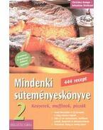 MINDENKI SÜTEMÉNYESKÖNYVE 2 . - KENYEREK, MUFFINOK, PIZZÁK