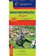 Magyarország Comfort térkép 1:520 000