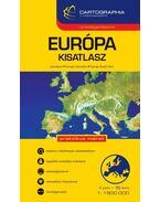 EURÓPA KISATLASZ - 1:1.500.000 - CART.