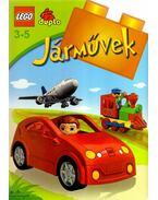 JÁRMŰVEK - LEGO DUPLO