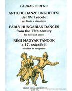 Régi magyar táncok a XVII. századból fuvolára és zongorára