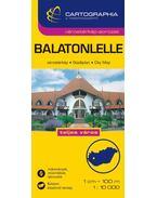 BALATONLELLE - VÁROSTÉRKÉP 1:10000 CARTOGRAPHIA -